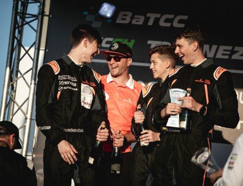 """Pirmasis """"Baltic Karting Academy"""" startas ištvermės lenktynėse pažymėtas pergale"""